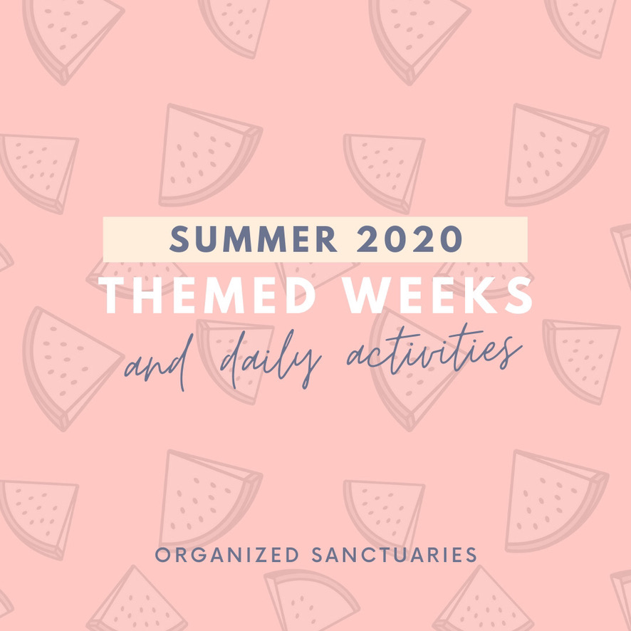 Organized Sanctuaries Summer 2020