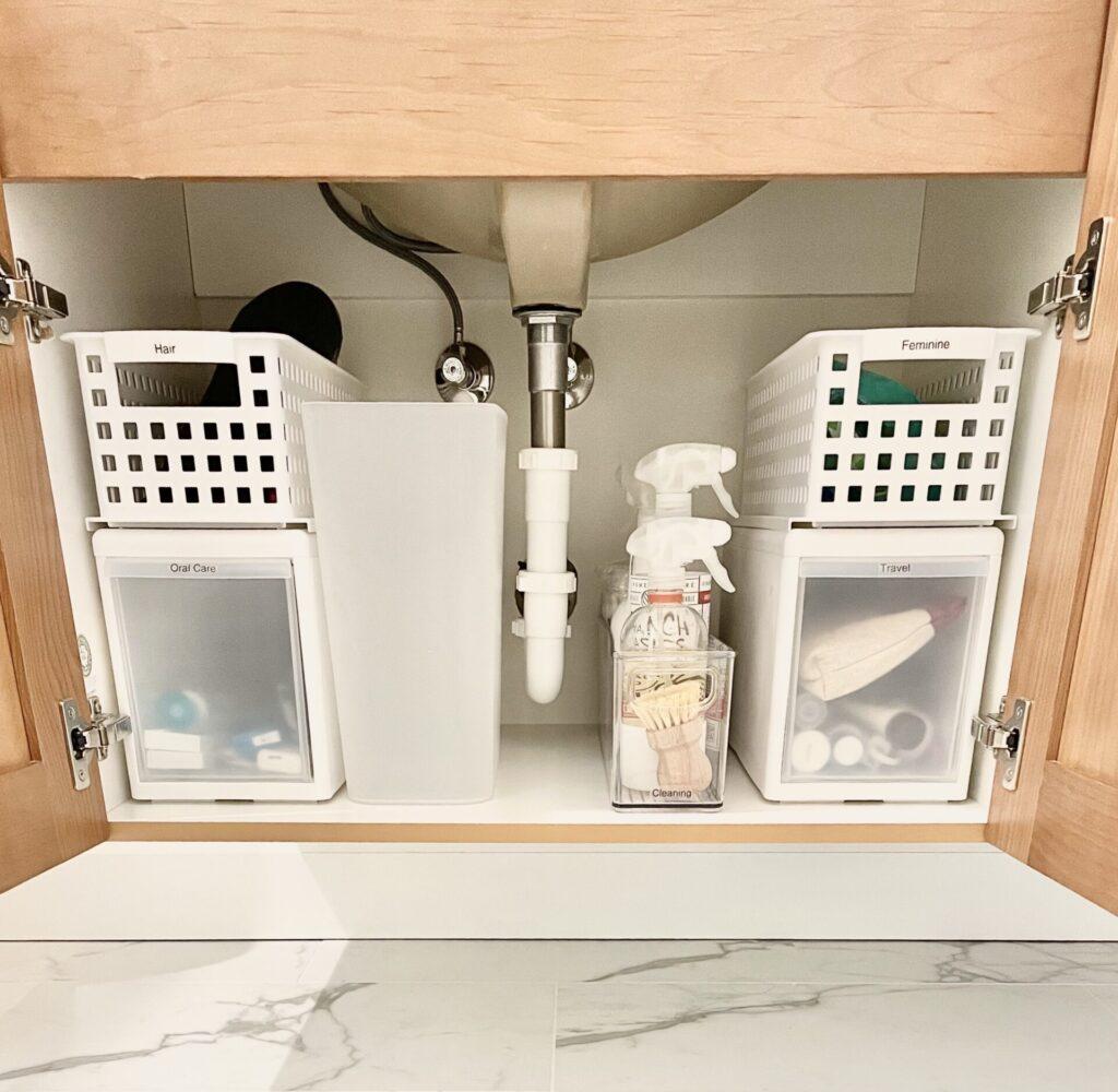 Organized Sanctuaries Bathroom Sink